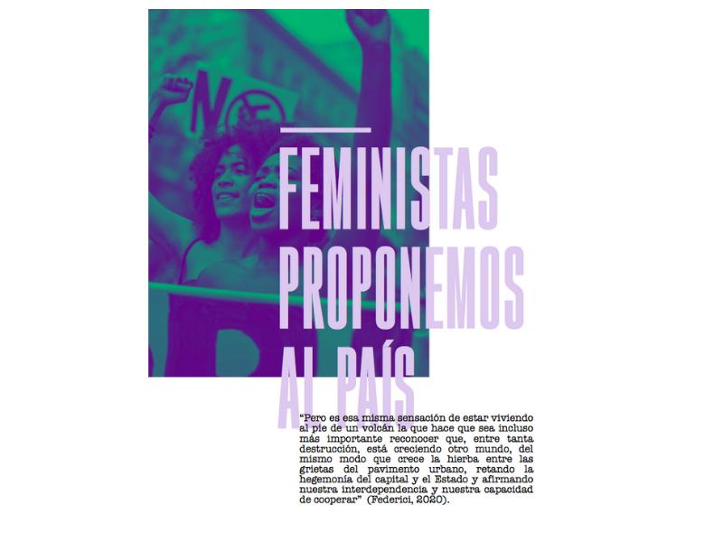COMUNICADO: Feministas proponemos al país